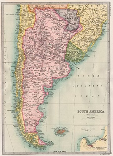 Cape Horn On South America Map.Amazon Com Cape Horn Argentina Chile Paraguay Uruguay
