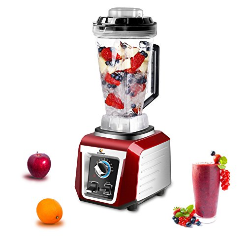 POSAME Professional Commercial Blender with Stir Bar 76Oz Heating Function 10 Speed Setting