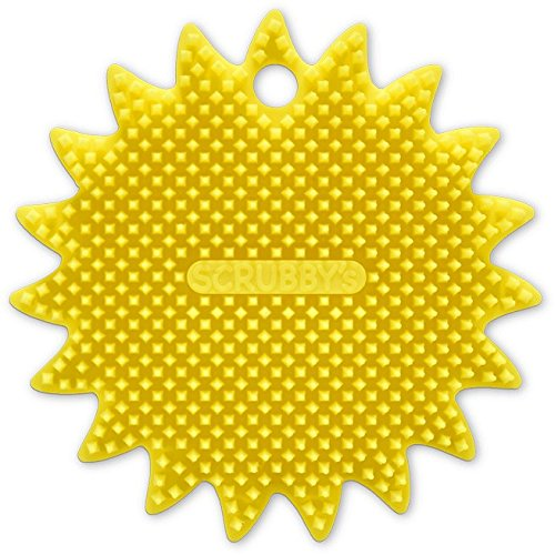 Scrubby's Trade SC011 Silicone Scrubber, One Size, Yellow by Scrubby's Trade (Image #1)