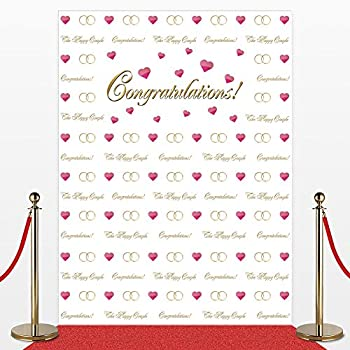 Amazon.com: Custom 8' x 8' Step and Repeat Photo Backdrop, No ...