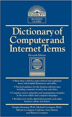 Amazon com: Dictionary of Computer and Internet Terms (Barron's