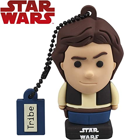 Llave USB 32 GB Han Solo - Memoria Flash Drive 2.0 Original Star ...