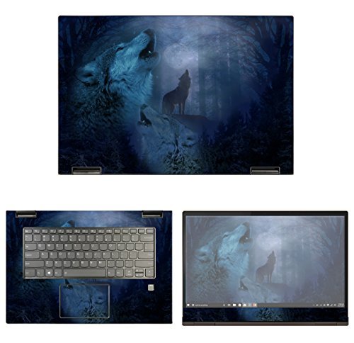 Carrying Case Screen Piper - decalrus - Protective Decal Wolves Skin for Lenovo Yoga 730-15 (15.6