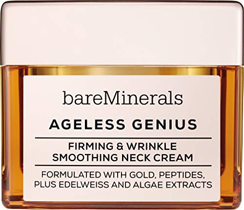 - bareMinerals Ageless Genius Firming and Wrinkle Smoothing Neck Cream, 1.7 Ounce