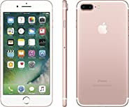 Apple iPhone 7 Plus 256GB, Rose Gold (Certified Refurbished)