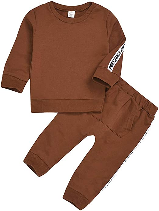 Yousity Newborn Infant Toddler Baby Boys Girls Letter Print Romper Bodysuit+Floral Pants+Headband Outfits Baby Onesies Set