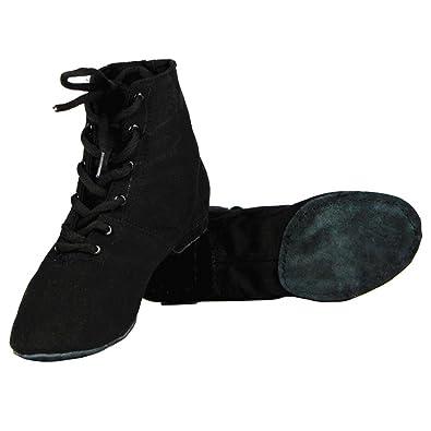 Tela Morbido Scarpe da Ballo Jazz Swing Ballet Ginnastica Sport Fitness  Allenamento Yoga per le Ragazze 07cdc5377d7