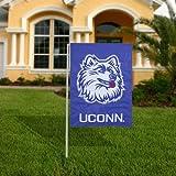 Cheap NCAA UConn Huskies Navy Blue Applique Garden Flag