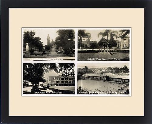 Framed Print of Four scenes, Pietermaritzburg, Natal, South Africa by Prints Prints Prints