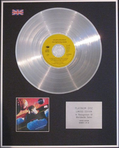 LIGHTNING SEEDS- CD Platinum Disc- CLOUD CUCKOOLAND B07B98R5B1