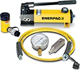 Enerpac SCR-55H Single Acting Cylinder Pump Set RC-55 Cylinder with P-142 Hand Pump