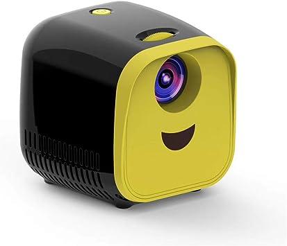 ZXL Mini proyector para niños 1000 lúmenes 320x240p Soporte Full ...