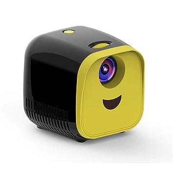 ZXL Mini proyector para niños 1000 lúmenes 320x240p Soporte ...