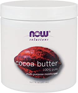 Now Foods Cocoa Butter (100% Pure) - 7 oz. 4 Pack