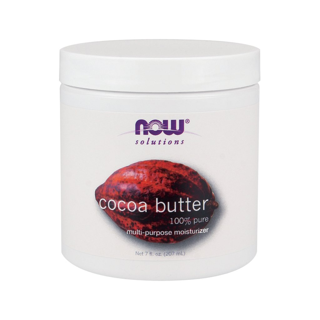 Now Foods Cocoa Butter (100% Pure) - 7 oz. 3 Pack