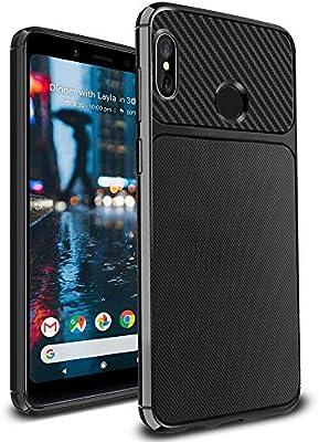Ferilinso Funda Xiaomi Redmi Note 5, Funda Protectora a Prueba de Golpes Flexible para Xiaomi Redmi Note 5 (Negro): Amazon.es: Electrónica