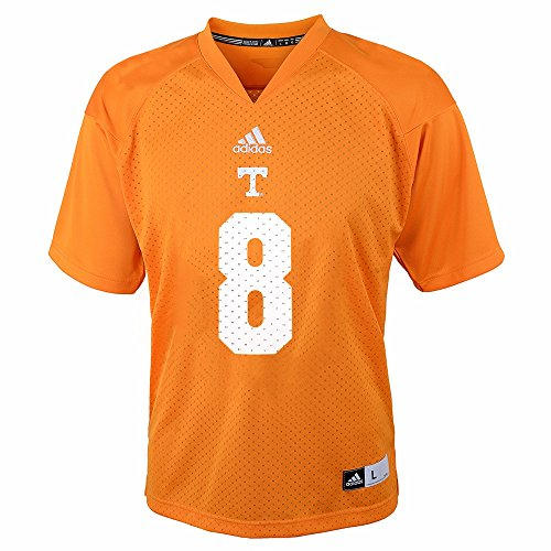 NCAA Tennessee Volunteers #8 Toddler Replica Jersey (Orange, 3T)