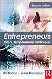 Entrepreneurs, Second Edition: Talent, Temperament, Technique