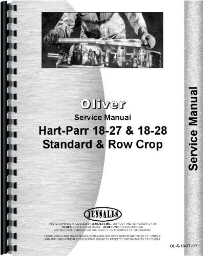 Oliver (Hart Parr) Hart Parr 18-27 Tractor Service Manual ebook