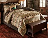 Bears & Deer Southwest, Boys, Hunting, Cabin Twin Comforter Set (10 Piece Bed In A Bag) + HOMEMADE WAX MELT