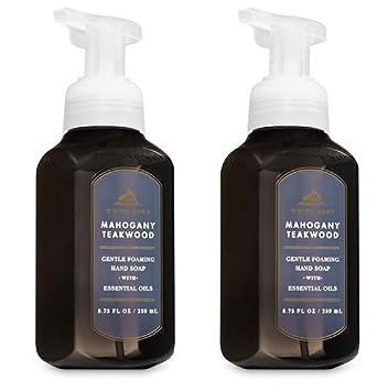 White Barn By Bath Body Works Gentle Foaming Hand Soap In Mahogany Teakwood 2 Pack