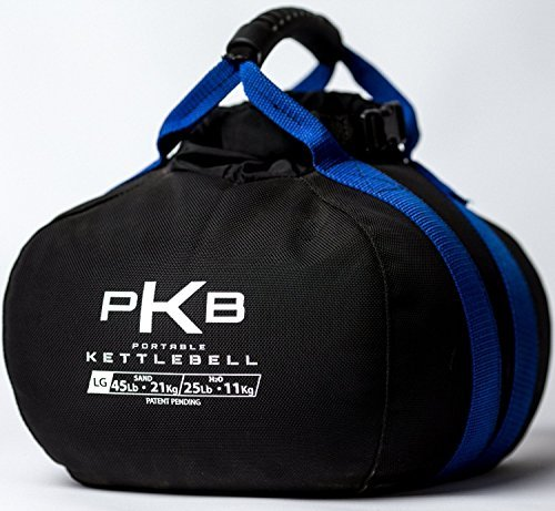 Kettlebell - The Best Exercise Equipment For Your Workout - Adjustable Kettlebells - Portable Weights - Soft Kettle Bell - Weight Set For Fitness - SATISFACTION GUARANTEE! (Blue, 0-45 lbs)