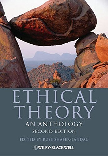 470671602 - Ethical Theory: An Anthology