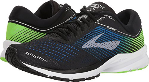 Brooks Men's Launch 5 Black/Blue/Green 12 D US - Launch 4 Piece