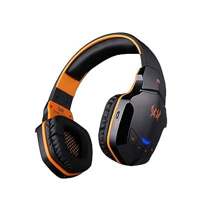 Auriculares Inalámbricos 32Ω, V4.1 Bluetooth para Computadora Portátil con Música De Juegos,