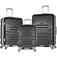 3-Piece Olympia USA Monaco Expandable Carry On Spinner Set