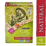 Purina Cat Chow Natural Dry Cat Food, Naturals Original - 13 lb. Bag