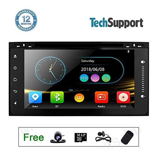 Touch Screen Radio Car Stereo DVD Player GPS Navigation for Toyota Hilux VIOS Corolla Camry Prado RAV4 4Runner 6.95