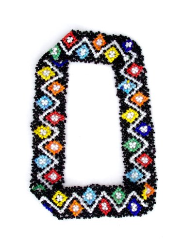Sizzle City Custom Bling Rhinestone Bohemian Pattern Seed Bead Elastic Stretch Headbands (Native American Seed Bead Headband Style Q) (Rhinestone Hats Custom)