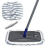 Masthome Large Area Cleaning Hardwood Floor Microfiber Mop Flat Wet Mops