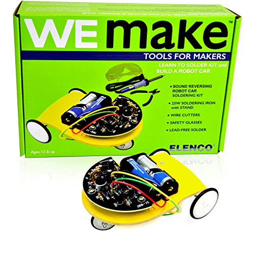 best stem toys for toddlers Learn to Solder and Make a Robot Car Kit