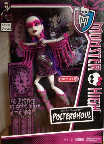 Monster High Power Ghouls Spectra Vondergeist(Polter