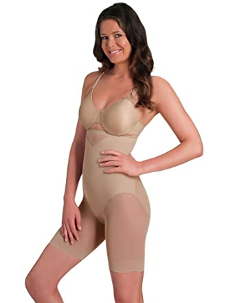 31f6a05cdd0e2 Miraclesuit Shapewear Sexy Sheer Nude Hi-Waist Thigh Slimmer 2789 at ...