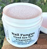 Product review for NAIL FUNGUS Dead Sea Salt Treatment ! Safe Natural Effective. With powerful Tea Tree Oil!, Drug Free. For Toe and Finger nails.