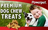 Powerpet Natural Cow Ears for Dogs