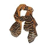 Scarfs for Women 3D Vintage Digital Lightweight Fashion Long Shawl Wraps