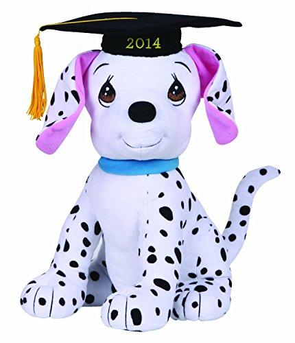 Precious Moments Plush '2014' Graduation Dalmatian Dog, L...