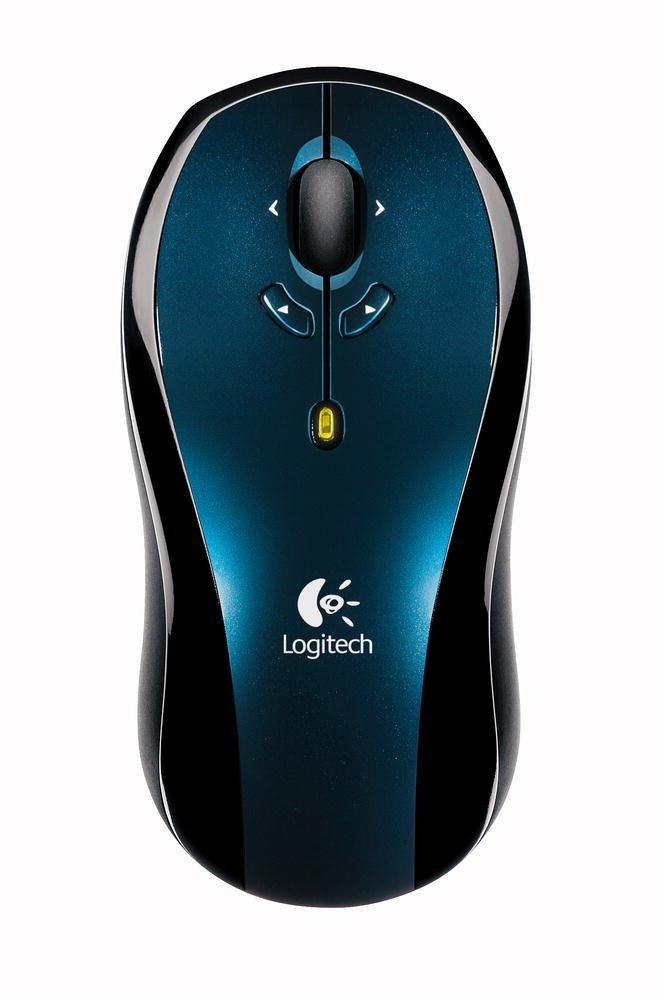 Logitech LX7 Cordless Optical Mouse - Dark Blue