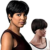 Best African American Wigs - Dreambeauty Brazilian Remy Natural Human Hair Unprocessed Glussless Review