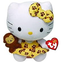 Ty - Ty42088 - Peluche - Hello Kitty Safari - Beanie Babies - 20 Cm