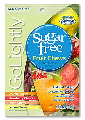 Sugar Free Fruit Chews Candy from GoLigh - Sugar Free Fruit Chews Shopping Results
