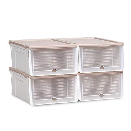 Shoe Box Caja De Zapatos_4 Piezas Organizador De ...