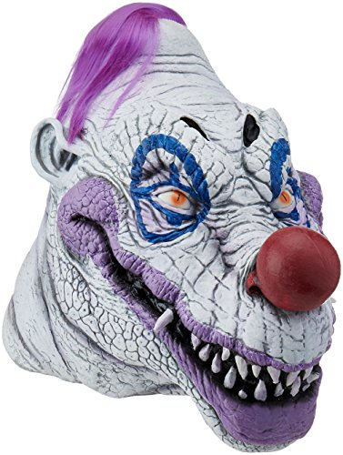Trick or Treat Studios Men's Killer Klowns From Outer Space-Klownzilla Mask, Multi, One Size