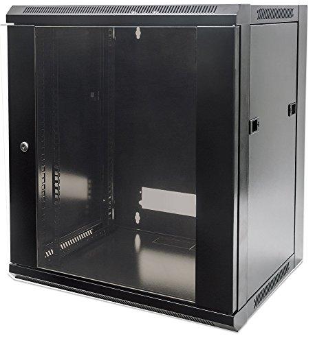 'INTELLINET 19Wall Cabinet 9 black black 6 HE 37x60x60montiert black