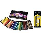 Prismacolor Premier lápices de colores, núcleo blando, 150-count con Prismacolor de colores Lápiz–Set de accesorios para, 7