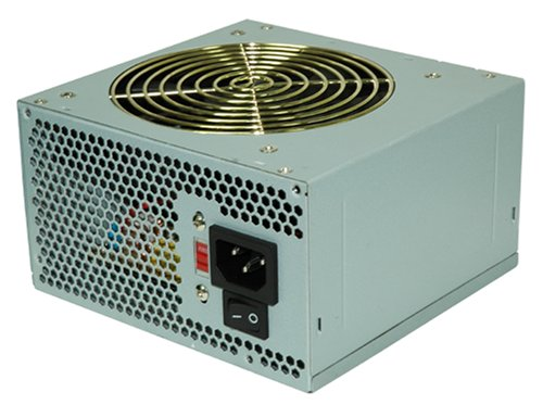 CoolMax V-500 500 Watt 120MM Serial ATA Power Supply With Silent Fan